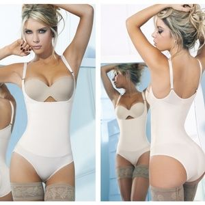 Ann Chery Latex Bodyshaper Bikini With Gusset